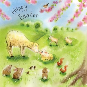 FIZ29 - Easter Card Lambs